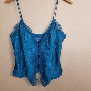 Victoria's Secret || vintage gold label lace cami